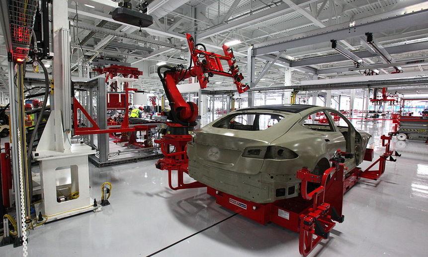 Завод Tesla будет выпускать аппараты ИВЛ. Фото Steve Jurvetson (CC BY 2.0)